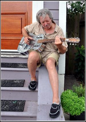 Guitariste Faubourg Marigny