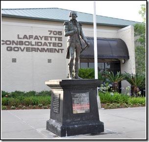 Lafayette-Statue