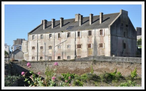Ancienne prison de Pontaniou, actuellement désaffectée.