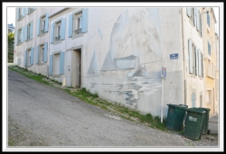 Sur le haut de la rue de St Malo, la rue Abbé Rochon, très pentue