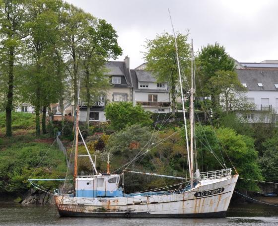 Ancien thonier d'Audierne- Port Rhu, Douarnenez