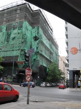 Immeuble en cours de restauration