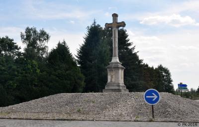 Croix de St Hérem- Rappel d'une rencontre entre Napoléon et Pie VII