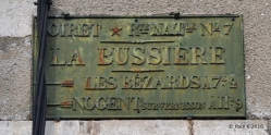plaque-metal